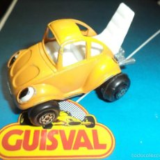 Coches a escala: GUISVAL - VOLKSWAGEN GO - BUG.1ªSERIE CHASIS METÁLICO.. Lote 59071990