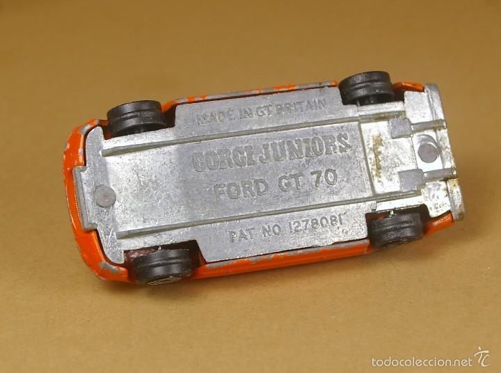 Coches a escala: CORGI JUNIORS ESCALA 1:64 Made in G.B. - FORD GT 70 - VINTAGE Raro - Foto 5 - 59085695