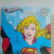 Coches a escala: HOT WHEELS SUPERGIRL - DC COMICS. Lote 60175099