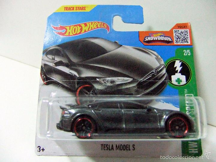low priced 70d85 78094 3 fotos TESLA MODEL S - HOT WHEELS HW GREEN SPEED 2  5 MATTEL ESCALA 1  ...