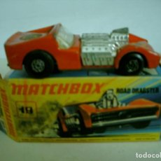 Coches a escala: MATCHBOX SERIE SUPERFAST ROAD DRAGSTER EN CAJA. Lote 62126040