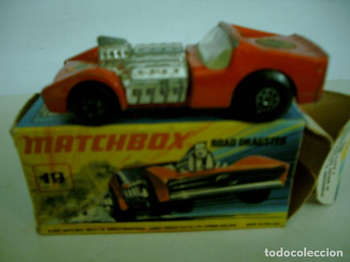Coches a escala: MATCHBOX SERIE SUPERFAST ROAD DRAGSTER EN CAJA - Foto 2 - 62126040