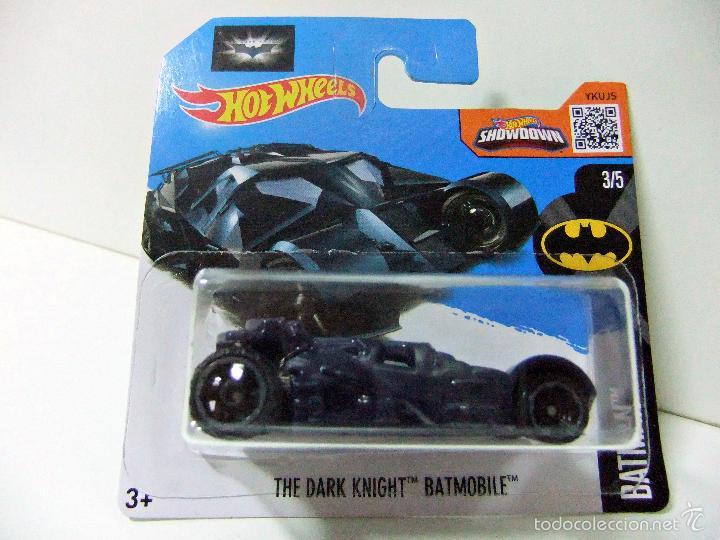 The Dark Knight Batmobile Batman Batmovil Azul Comprar Coches En