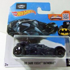 Coches a escala: THE DARK KNIGHT BATMOBILE BATMAN BATMÓVIL AZUL - HOT WHEELS MATTEL 2016 DC COMICS ESCALA 1:64 COCHE. Lote 210964612