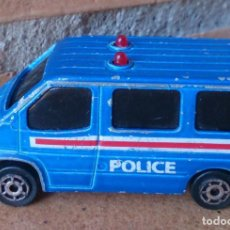 Coches a escala: COCHE FURGÓN POLICÍA MAJORETTE SONIC FLASHERS. Lote 63763071