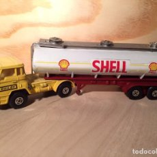 Coches a escala: CAMION DODGE BARREIROS GUILOY CISTERNA SHELL ESCALA 1:66. Lote 64178879