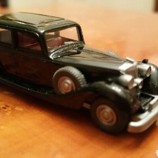 Coches a escala: COCHE A ESCALA, HORCH 850. (NEGRO) - MARCA WIKING. 1:87 GERMANY.. Lote 64731489
