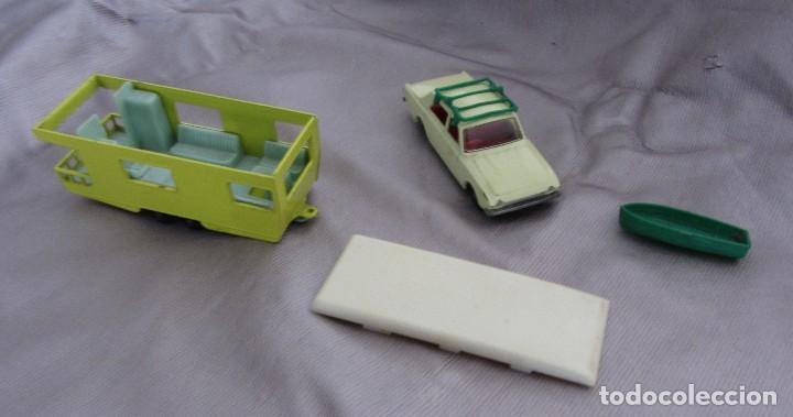 Coches a escala: MATCHBOX SERIES Nº 45 1965 FORD CORSARIO CON BARCA Y CARAVANA 1965 MADE IN ENGLAND BY LESNEY - Foto 8 - 67059274