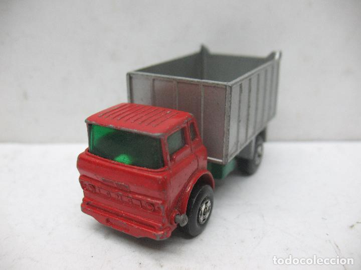 Coches a escala: MATCHBOX LESNEY SUPERFAST Ref: 26 - Camión G.M.C. Tipper Truck 1970 - Foto 3 - 67481757