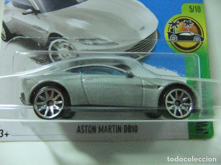 Aston Martin Db10 James Bond Agente 007 Spectre Hot Wheels Mattel Hw Exotics 2017 Esc 1 64 Coche