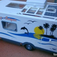 Coches a escala: AUTOCARAVANA HOLIDAY CAMPER HYMER GRANTURISMO MOTORHOME DICKIE TOYS. Lote 70243366