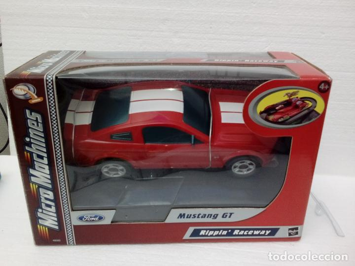 ford mustang gt -pista micro machines con acele - comprar coches