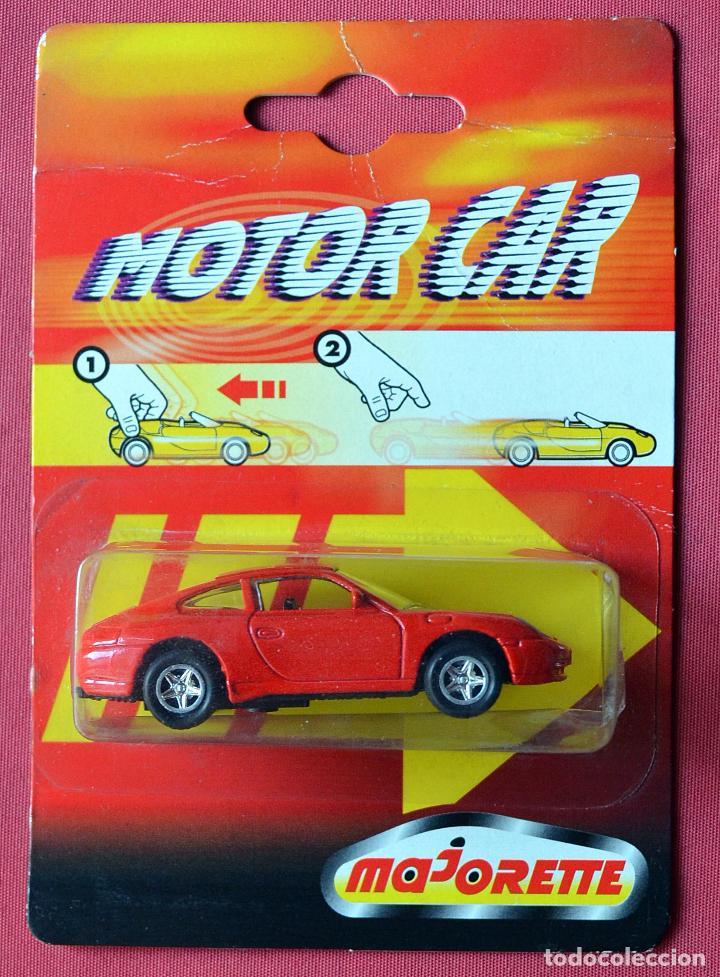 PORSCHE 911 CARRERA - MAJORETTE - MOTOR CAR - CON TRACCIÓN - NUEVO EN SU BLISTER (Juguetes - Coches a Escala Otras Escalas )