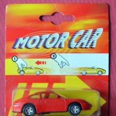 Coches a escala: PORSCHE 911 CARRERA - MAJORETTE - MOTOR CAR - CON TRACCIÓN - NUEVO EN SU BLISTER. Lote 74145947