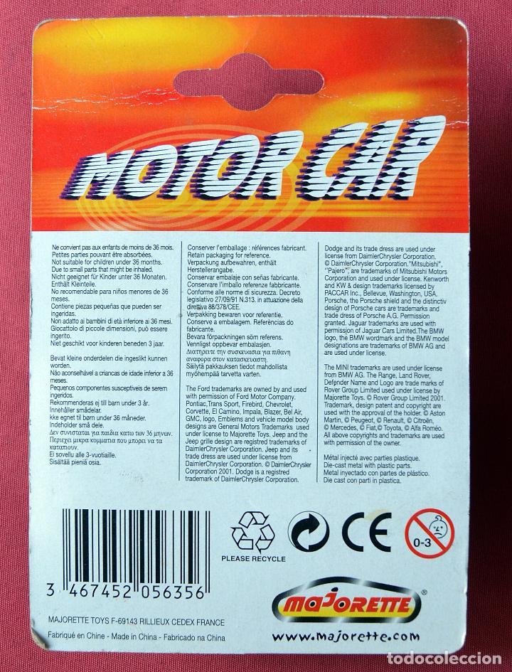Coches a escala: PORSCHE 911 CARRERA - MAJORETTE - MOTOR CAR - CON TRACCIÓN - NUEVO EN SU BLISTER - Foto 2 - 184529971