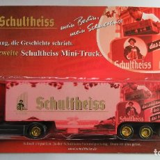 Coches a escala: CAMION TRAILER MAN CERVEZA SCHULTHEISS. Lote 74227263