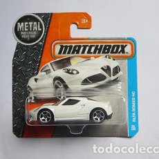 Auto in scala: MATCHBOX 1/64 ALFA ROMEO 4C . Lote 75041451
