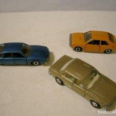Coches a escala: LOTE DE TRES COCHES DE MIRA SEAT 1220, CX PALAS Y FORD GRANADA. Lote 75301331