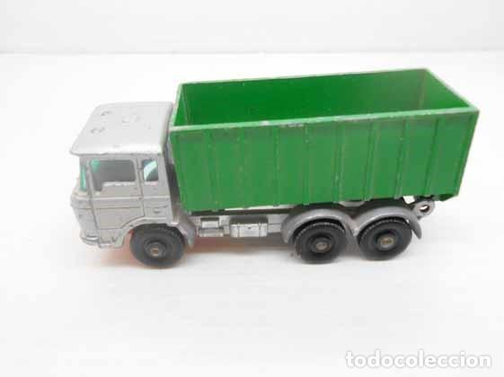 196. MATCHBOX LESNEY Nº 47 CAMION TIPPER CONTAINER TRUCK LORRY ENGLAND MACHBOX (Juguetes - Coches a Escala Otras Escalas )