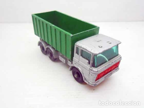 Coches a escala: 196. MATCHBOX LESNEY Nº 47 CAMION TIPPER CONTAINER TRUCK LORRY ENGLAND MACHBOX - Foto 2 - 76486483