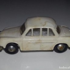 Coches a escala: MINI CARS ANGUPLAS : RENAULT DAUPHINE BLANCO Nº 20 MADE IN SPAIN AÑOS 60. Lote 77150465