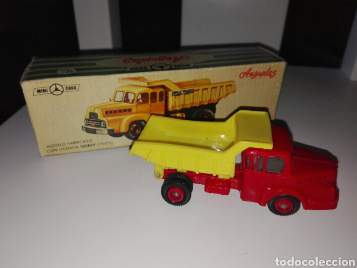 Coches a escala: Anguplas mini cars nº 122. Camion unic bennes marrel - Foto 1 - 80098714