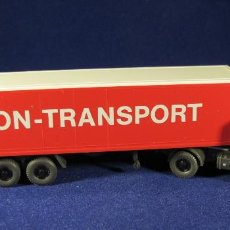 Coches a escala: WIKING MB 2026 UNION -TRANSPORT ESCALA H0 1:87. Lote 81199304