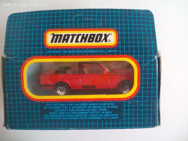 MATCHBOX. BMW CABRIOLET, CABRIO, 323I. MB-39. COCHE MINIATURA DE METAL (Juguetes - Coches a Escala Otras Escalas )