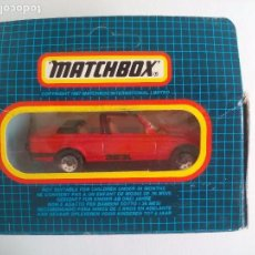 Coches a escala: MATCHBOX. BMW CABRIOLET, CABRIO, 323I. MB-39. COCHE MINIATURA DE METAL. Lote 103054751