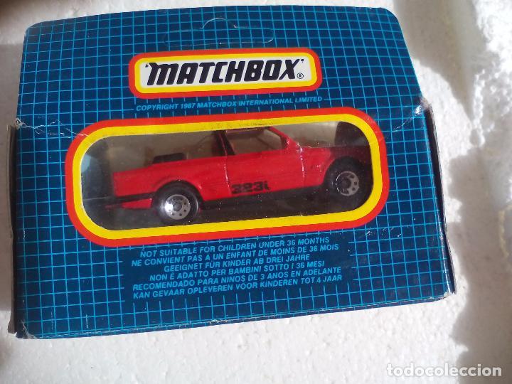 Coches a escala: Matchbox. BMW Cabriolet, cabrio, 323i. MB-39. Coche miniatura de metal - Foto 2 - 103054751