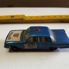 Coches a escala: FORD FAIRLANE, POLICE CAR, LESNEY MATCHBOX MADE IN ENGLAND. . Lote 81810908