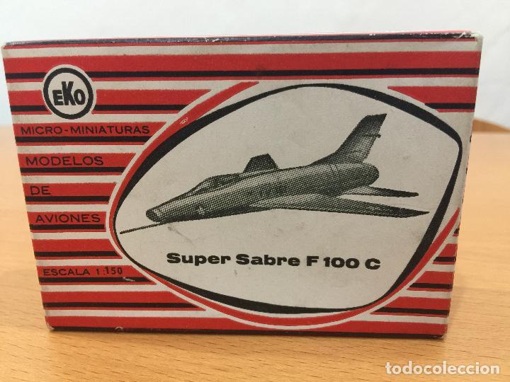 EKO AVION SUPER SABLE ESCALA 1/150 (Juguetes - Coches a Escala Otras Escalas )