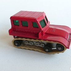 Coches a escala: QUITANIEVES SNOW-TRAC DE MATCHBOX LESNEY NUM. 35. Lote 82114231