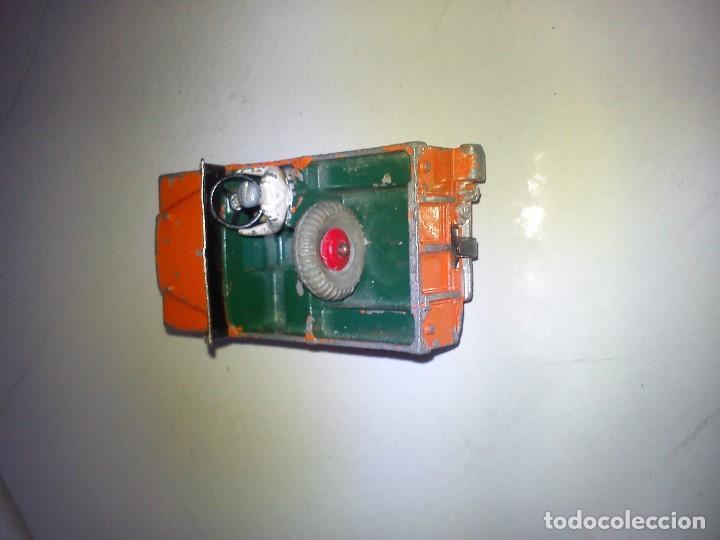 Coches a escala: ANTIGUIO COCHE DE COLECION HECHO EM HIERRO MAD INGLAND DRINK TOYS ANOS 50,60 - Foto 3 - 83063500