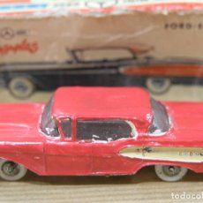 Coches a escala: FORD EDSEL MINICARS MINI CARS ANGUPLAS 4 ESCALA 1/86. Lote 84961632
