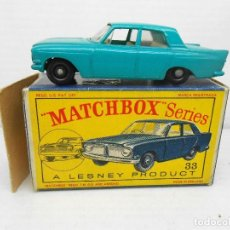 Coches a escala: 1319 MATCHBOX 33 FORD ZEPHYR III MODEL CAR COCHE LESNEY ENGLAND MINIATURA 1/64 . Lote 85217612