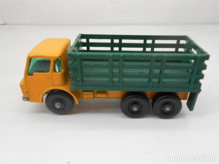 Coches a escala: 1345 MATCHBOX CAMION STAKE TRUCK REF 4 LESNEY LORRY MINIATURA TRANSPORTE alfreedom - Foto 2 - 85965516