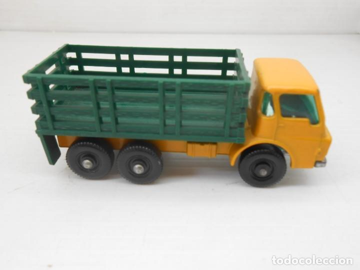 Coches a escala: 1345 MATCHBOX CAMION STAKE TRUCK REF 4 LESNEY LORRY MINIATURA TRANSPORTE alfreedom - Foto 3 - 85965516