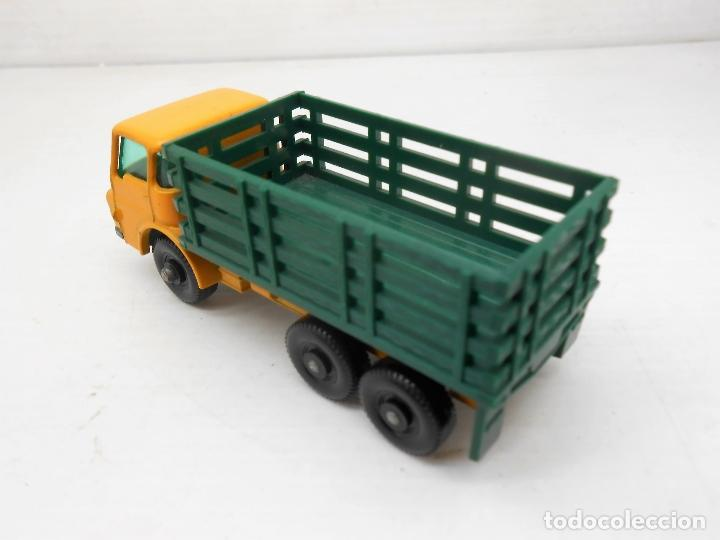Coches a escala: 1345 MATCHBOX CAMION STAKE TRUCK REF 4 LESNEY LORRY MINIATURA TRANSPORTE alfreedom - Foto 5 - 85965516