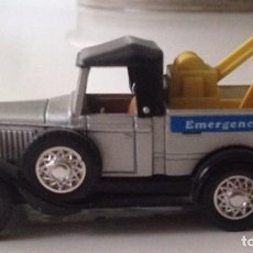 Coches a escala: GUISVAL : FORD MODELA A :EMERGENCY SERVICE 1930. Lote 86331260