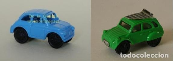 Reservado Kinder Sorpresa Citroen 2cv Y Seat 600 O Fiat 500
