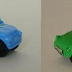 Coches a escala: RESERVADO - KINDER SORPRESA CITROEN 2CV Y SEAT 600 O FIAT 500. Lote 171184552