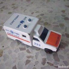 Auto in scala: MAJORETTE AMBULANCE 1/60. Lote 87648576