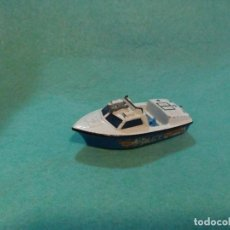 Coches a escala: LOTE LANCHA DE METAL POLICE Nº52 - MATCHBOX LESNEY VINTAGE 1976 - MADE IN ENGLAND. Lote 87719516