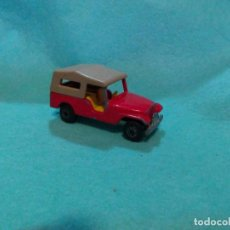 Coches a escala: LOTE COCHE DE METAL - MATCHBOX LESNEY Nº 53 CJB JEEP - VINTAGE 1977 MADE IN ENGLAND. Lote 87743640