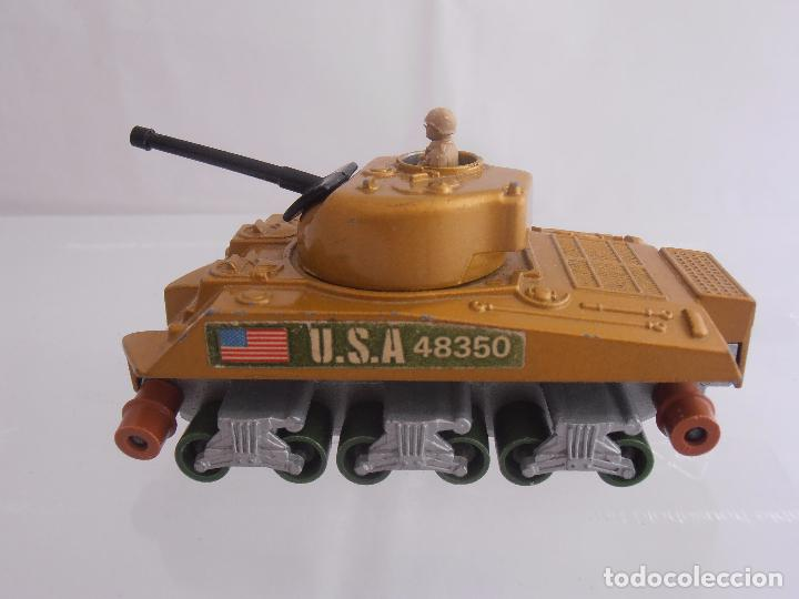 Coches a escala: TANQUE SHERMAN K-101, MATCHBOX, LESNEY, MADE IN ENGLAND 1974 - Foto 3 - 88277192