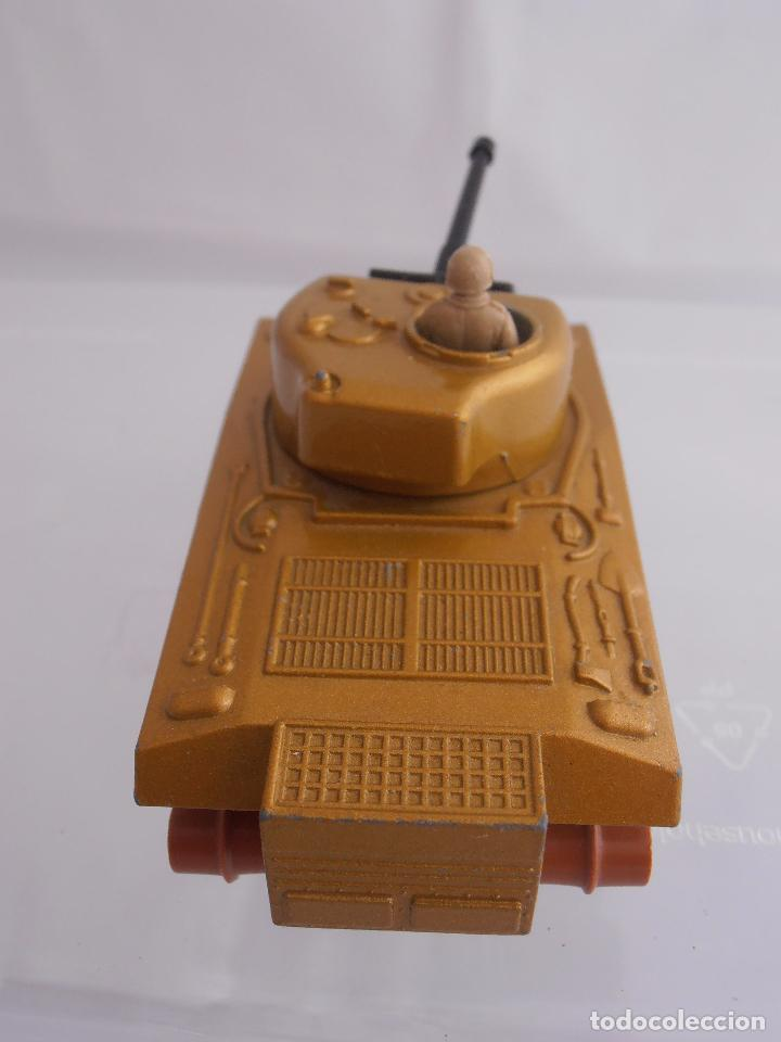 Coches a escala: TANQUE SHERMAN K-101, MATCHBOX, LESNEY, MADE IN ENGLAND 1974 - Foto 4 - 88277192