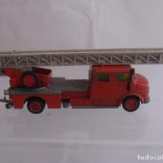Coches a escala: CAMION DE BOMBEROS, MERCEDES BENZ METZ, DL 30H, SIKU MADE IN GERMANY. Lote 88277448