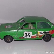 Coches a escala: GUILOY : ANTIGUO FORD FIESTA AÑOS 70 / 80 REF. 611001 MADE IN SPAIN. Lote 89119384