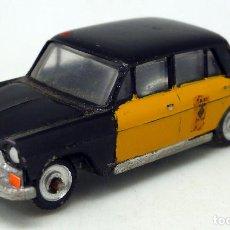 Carros em escala: SEAT 1400 C TAXI BARCELONA EKO 1/88 H0 AÑOS 60. Lote 89175360